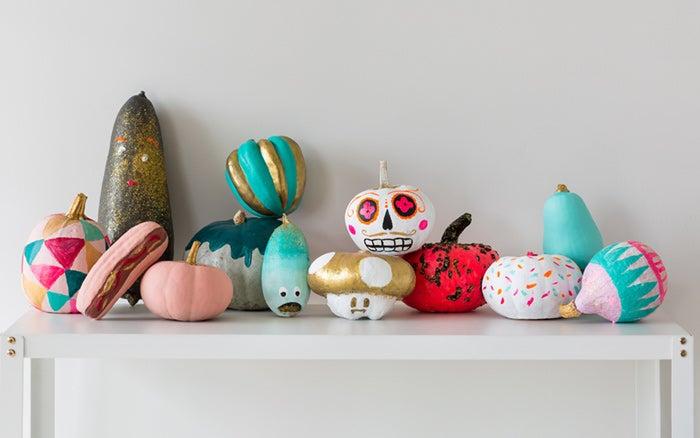 Des Citrouilles DIY Peur-faites!