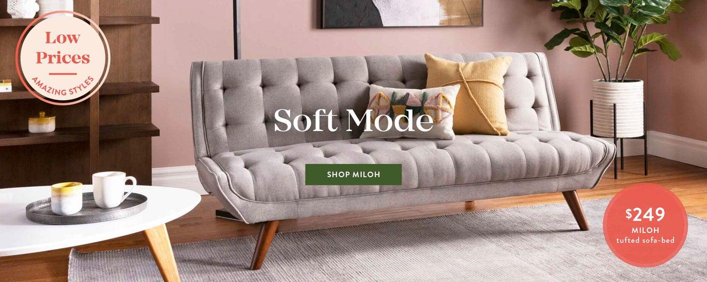 Modern furniture accessories home decor structube