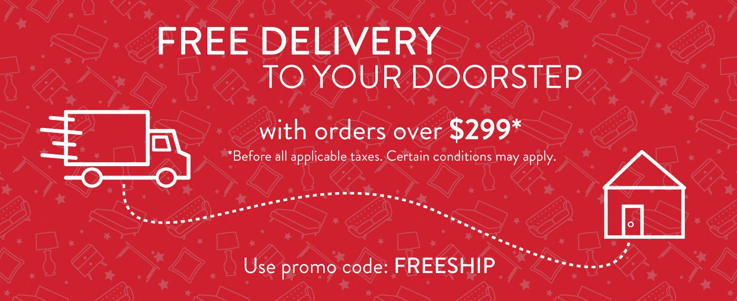 Free delivery to your doorstep