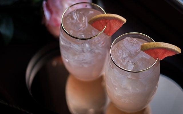 Un cocktail frais et pétillant pour la St-Valentin