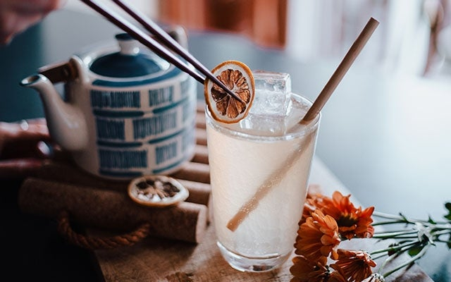 Tea-based Cocktail? Go for it!