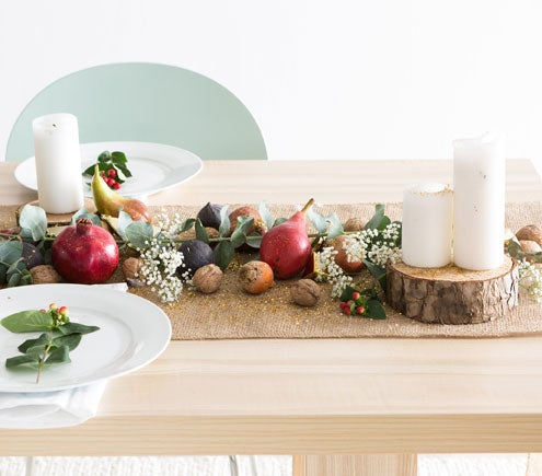 A Winter Harvest Holiday Table